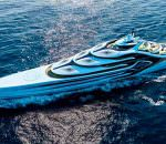 175-метровый концепт яхты Acionna от Andy Waugh Yacht Design