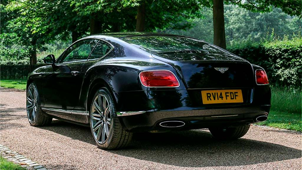 Bentley Continental GT Speed сэра Элтона Джона