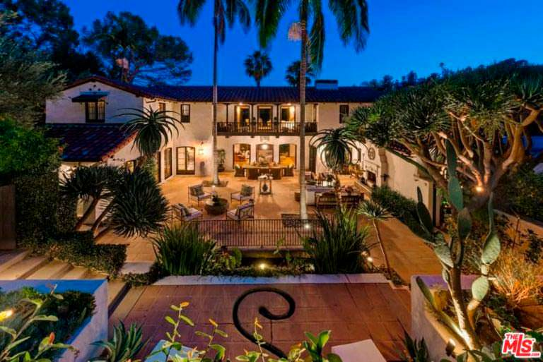 Дом Джима Парсонса в Лос Фелис