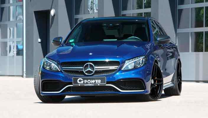 Тюнинг G-Power добавил мускул Mercedes-AMG C63 S | фото