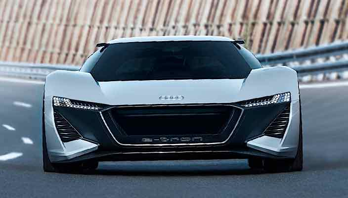 Audi PB18 E-Tron заглянула в будущее электромобилей | фото