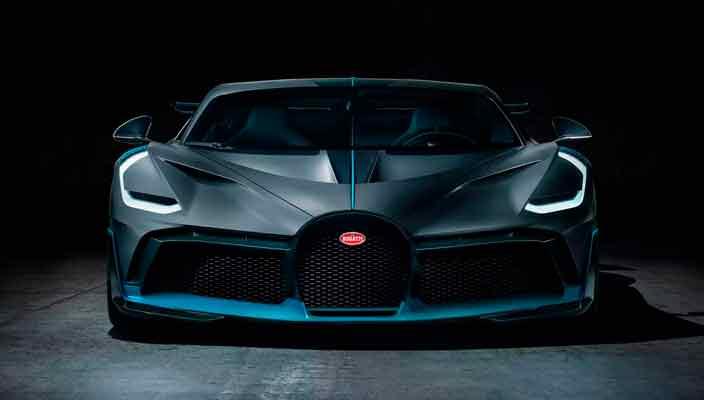 Создан особый суперкар Bugatti Divo на базе Chiron   фото