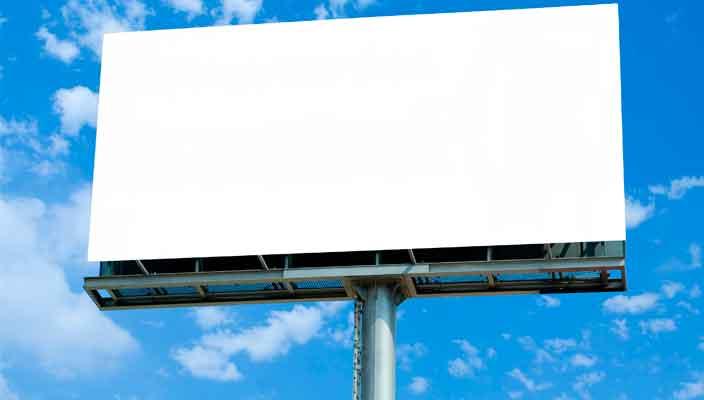 Эффективное размещение рекламы на билбордах