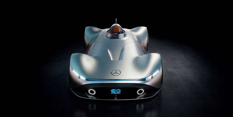 Электро-спидстер Mercedes EQ Silver Arrow