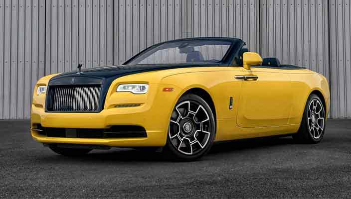 Единственный Rolls-Royce Dawn Black Badge от Bespoke | фото