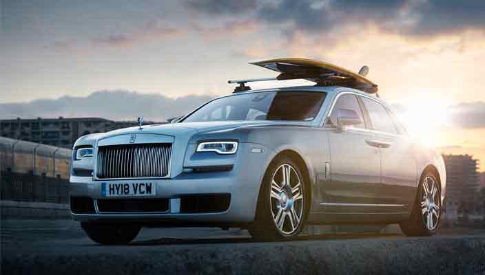 Rolls-Royce Ghost с подготовкой для серфера от Woodpop   фото