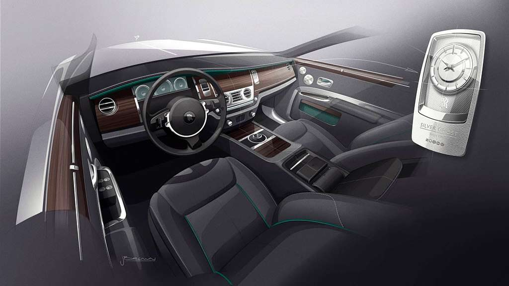 Фото внутри Rolls-Royce Silver Ghost Collection