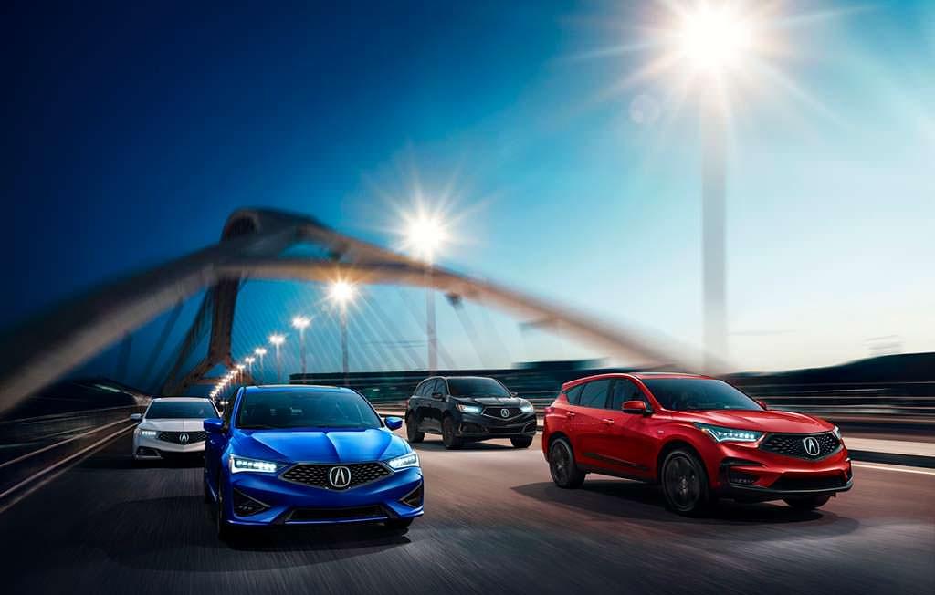 Модельный ряд Acura 2019 года