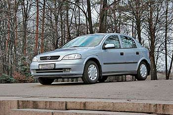 Популярный автомобиль Opel Astra G