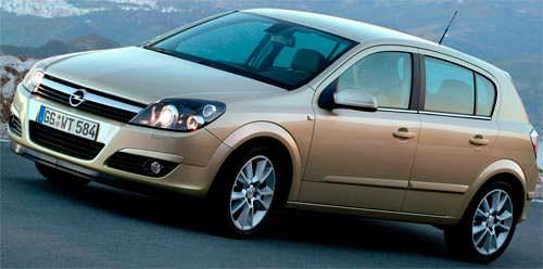 Третье поколение Opel Astra - Opel Astra H