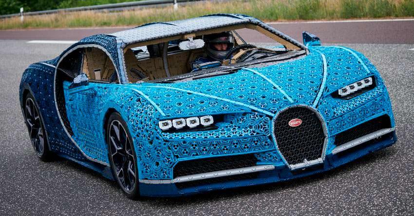LEGO Bugatti Chiron из более 1 000 000 пластиковых деталей