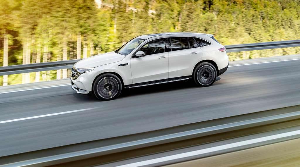 Mercedes-Benz EQC. Мощность 402 л.с.
