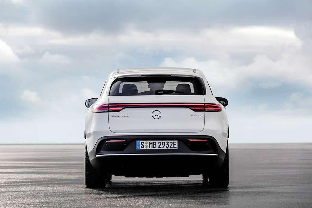 EQC - первый электромобиль Mercedes