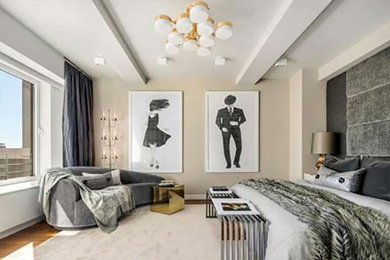 Дизайн спальни Кита Ричардса