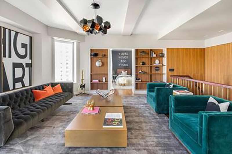 Квартира Кита Ричардса на Манхэттене