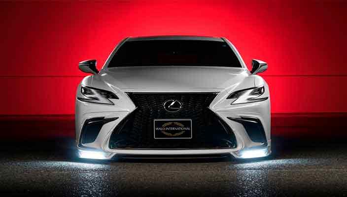 Тюнинг Lexus LS нового поколения от WALD International   фото