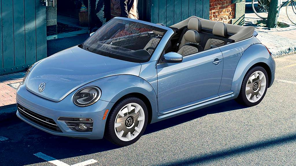 Кабриолет Volkswagen Beetle Final Edition 2019 модельного года