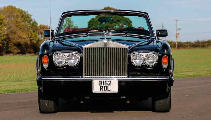 Автомобиль Фрэнка Синатры Rolls-Royce Corniche продается   цена