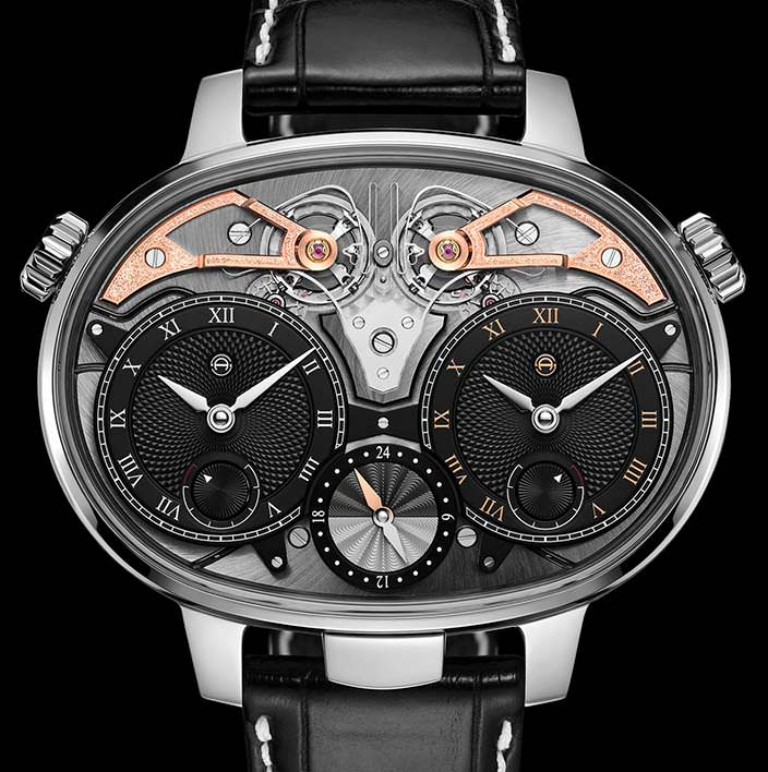 Часы Armin Strom Masterpiece 1 Dual Time Resonance