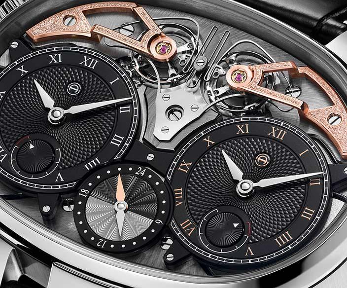Часы в титановом корпусе Armin Strom Masterpiece 1 Dual Time Resonance