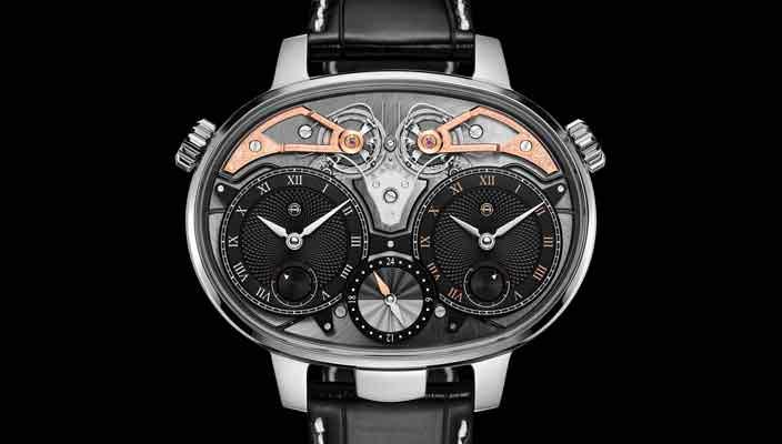 Armin Strom показал часы с двумя циферблатами. Цена $180000