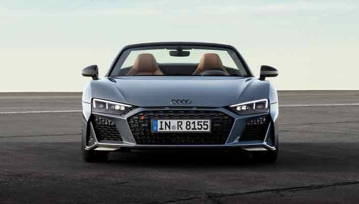 Купе и родстер Audi R8 обновились в середине цикла | фото