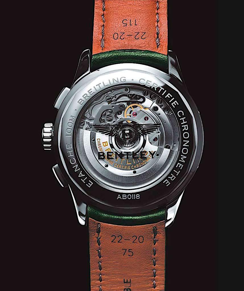 Швейцарские часы Breitling со стеклянной задней крышкой