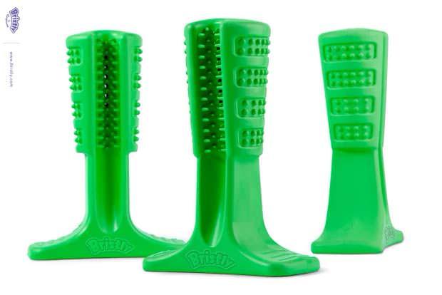 Bristly - зубная щетка для собак, эффективная чистка дома