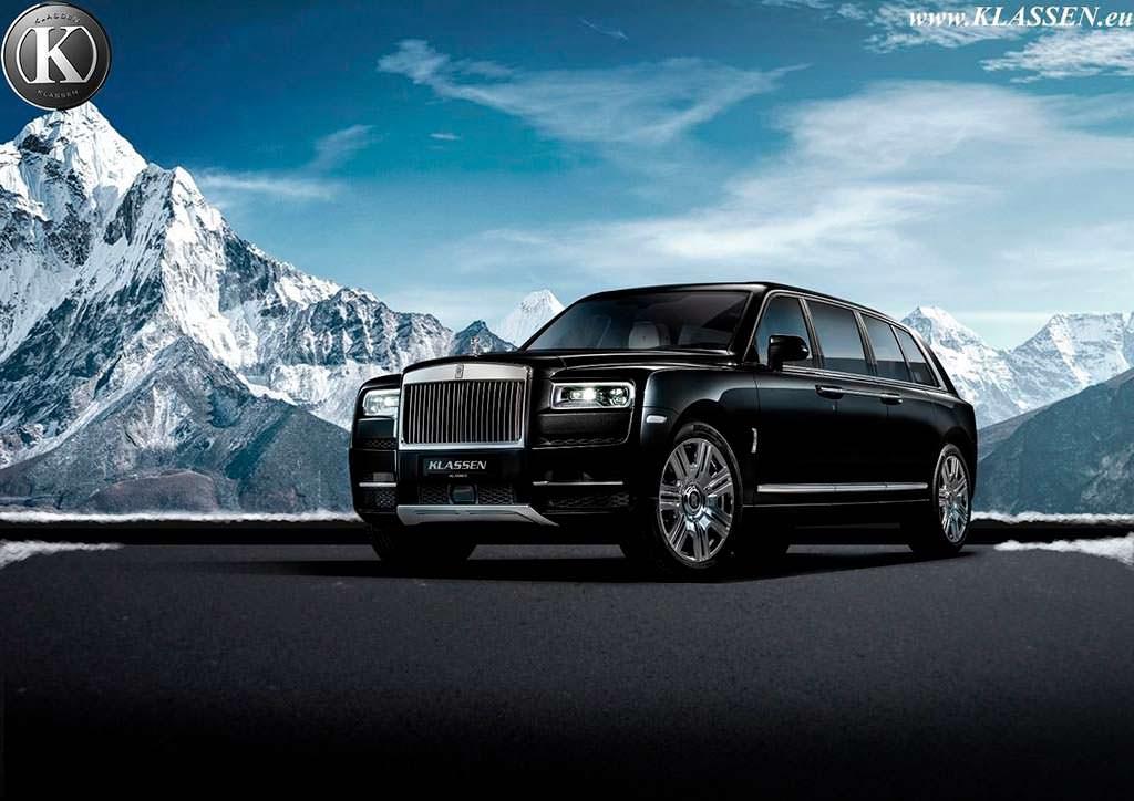 Бронированный лимузин-внедорожник Rolls-Royce Cullinan