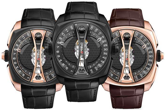 Швейцарские часы Cyrus Klepcys Vertical Tourbillon