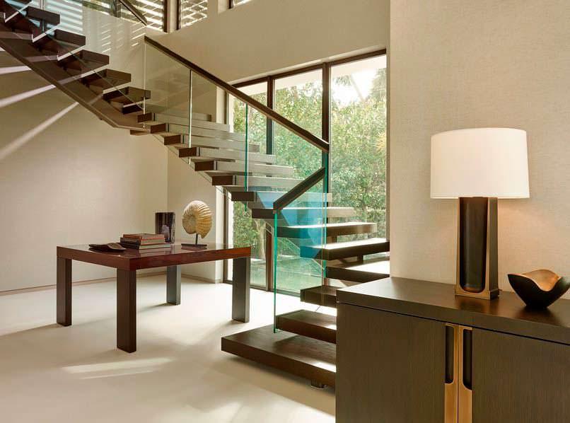 Дизайн лестницы в доме знаменитости