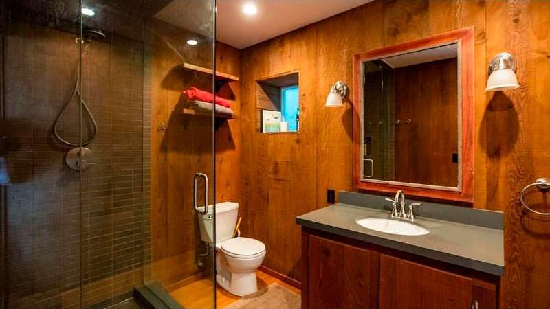 Дизайн ванной комнаты в пляжном доме
