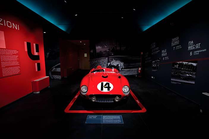 Гоночная Ferrari 290 MM 1956 года выпуска