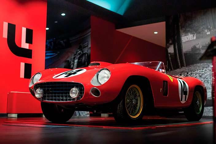 Ferrari 290 MM 1956 года выпуска. Шасси №0628