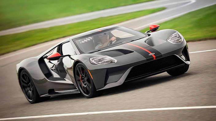 Новый Ford GT Carbon Series