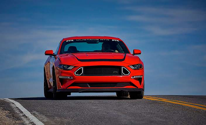 Ford Series 1 Mustang RTR limited edition. Серия из 500 машин