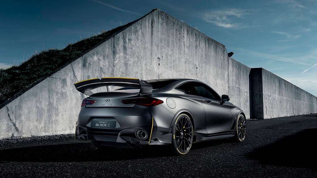 Концепт Infiniti Project Black S Prototype