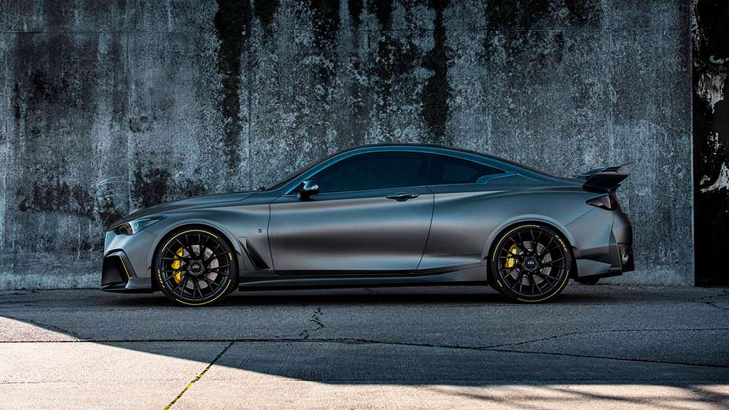Infiniti Project Black S Prototype 2018
