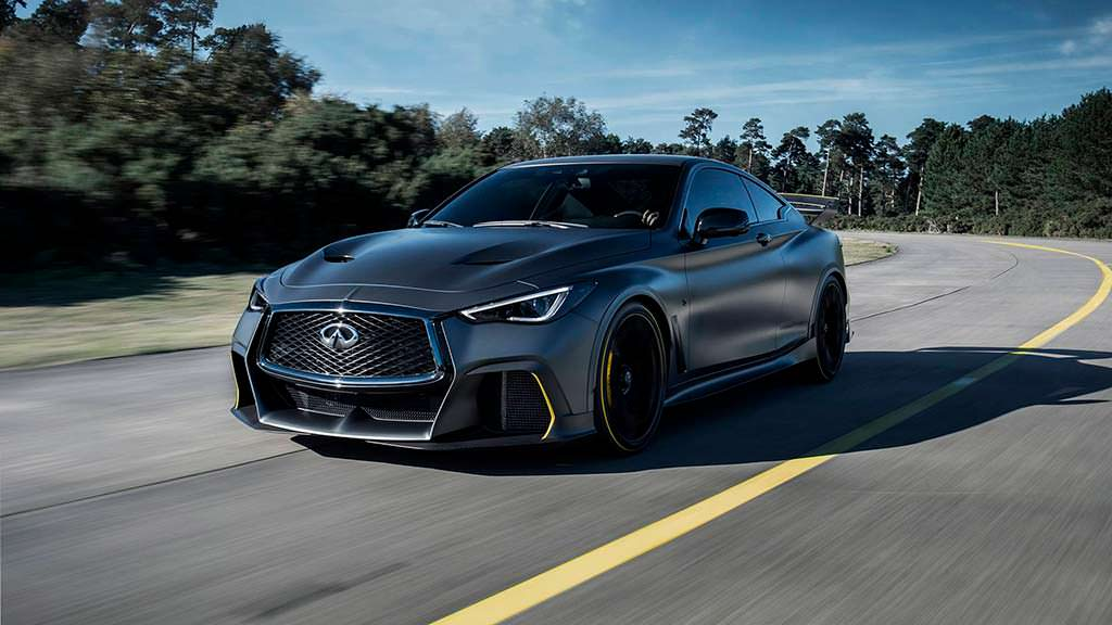 Новая Infiniti Project Black S Prototype