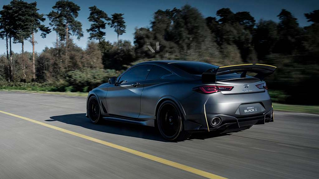 Спорткар Infiniti Project Black S Prototype