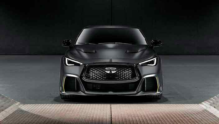 Infiniti Project Black S Prototype - гибрид из мира F1 | фото