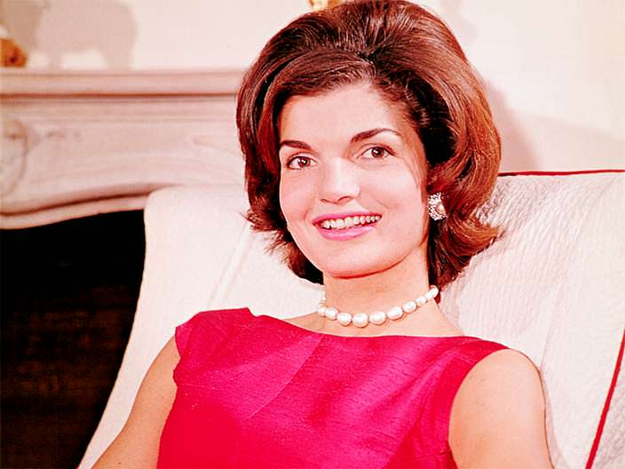 Жаклин - жена Джона Кеннеди