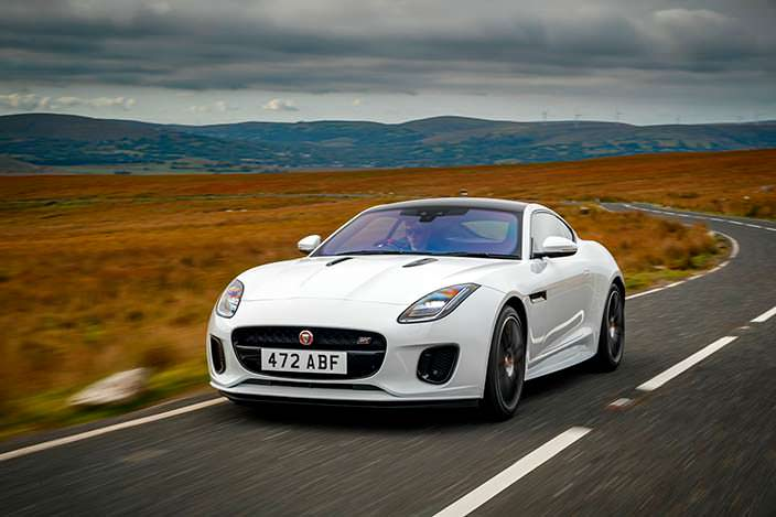 2018 Jaguar F-Type Checkered Flag Edition