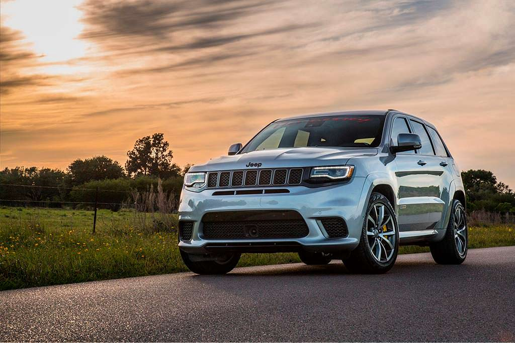 Jeep Grand Cherokee Trackhawk от Hennessey. Цена от $179 000