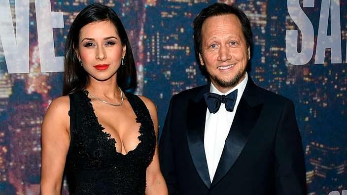 Фото | Роб Шнайдер и его жена Патрисия Арсе