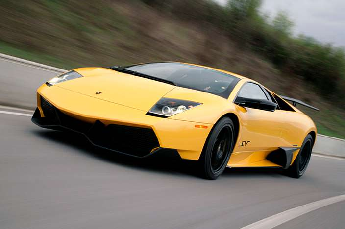 Lamborghini Murcielago - быстрый и незаметный как летучая мышь
