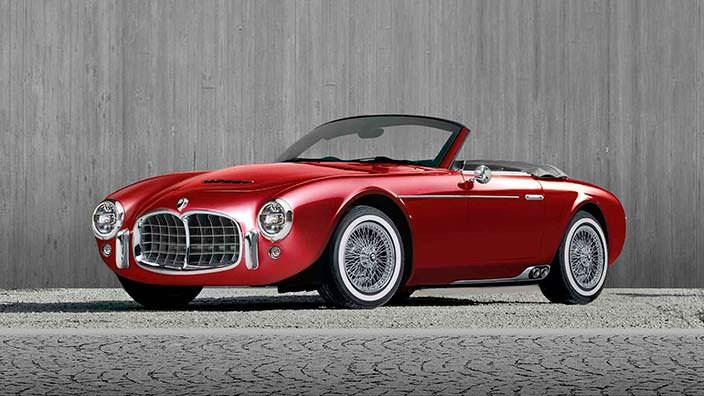 Ретро-тюнинг Ares Design в стиле Maserati 2000 Spyder 1950-х