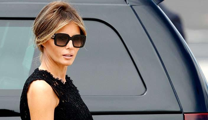 Меланья - жена Дональда Трампа