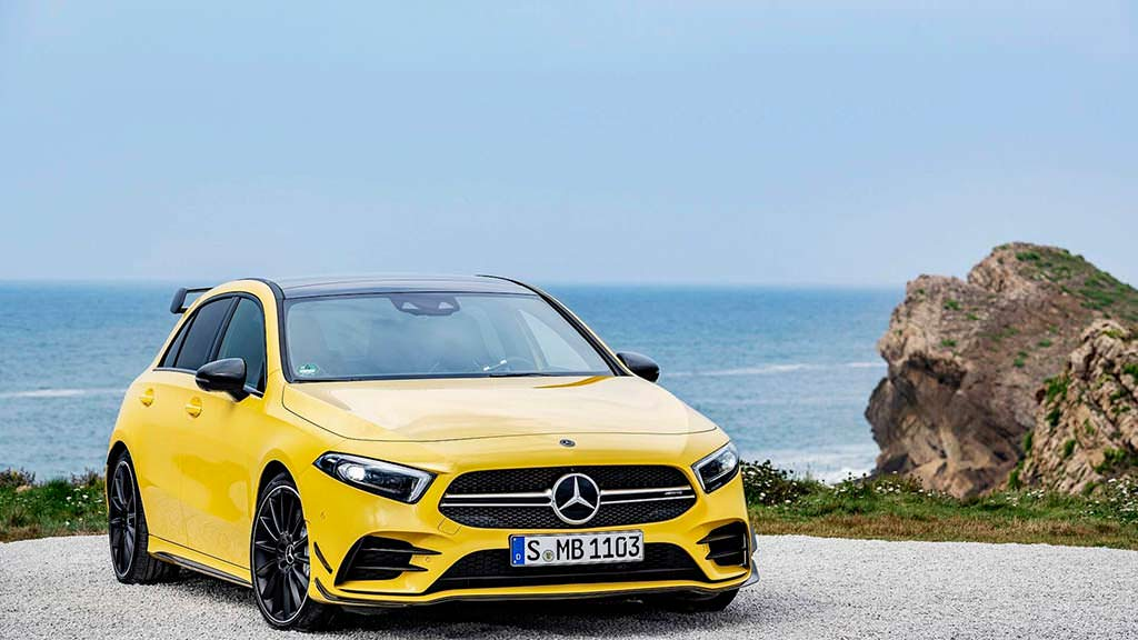 Новый Mercedes-AMG A35 4Matic. Кузов W177