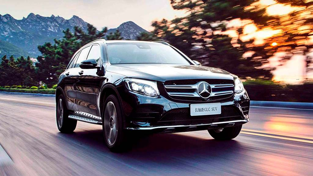 Китайский Mercedes-Benz GLC L с длинной колесной базой